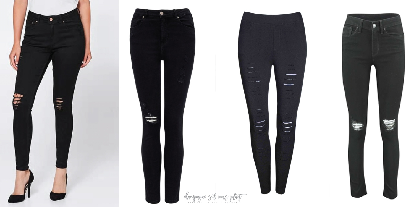 Black-Distressed-Jeans