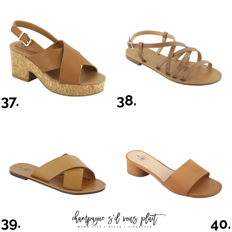 From Top to Tan | 100 Tan Shoes Under $100 </p>                     </div> 		  <!--bof Product URL --> 										<!--eof Product URL --> 					<!--bof Quantity Discounts table --> 											<!--eof Quantity Discounts table --> 				</div> 				                       			</dd> 						<dt class=