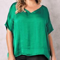 Carolina-Lifestyle-Bianca-V-Neck-Emerald
