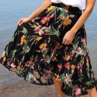 Orange-Sherbet-Havana-Skirt