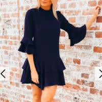 Divine-Avenue-Petra-Navy-Dress