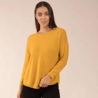Femme-Connection-Mustard-Jumper